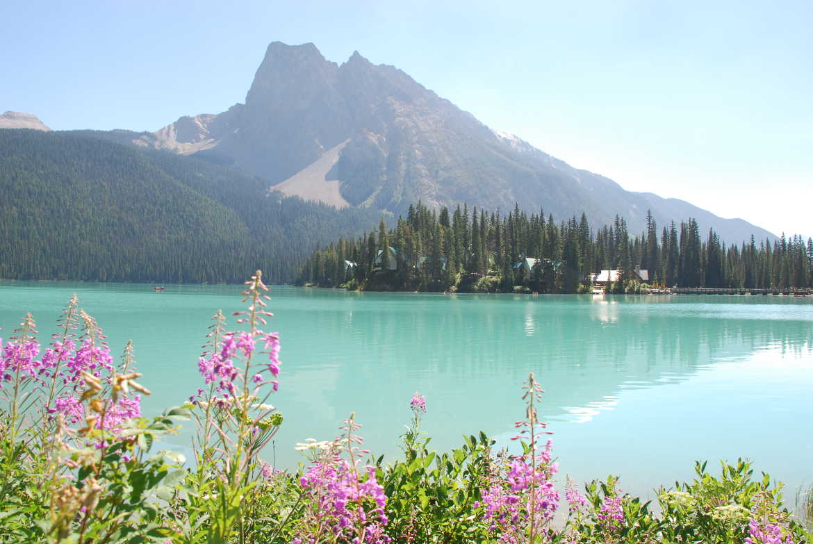 Emerald Lake Yoho Kanada