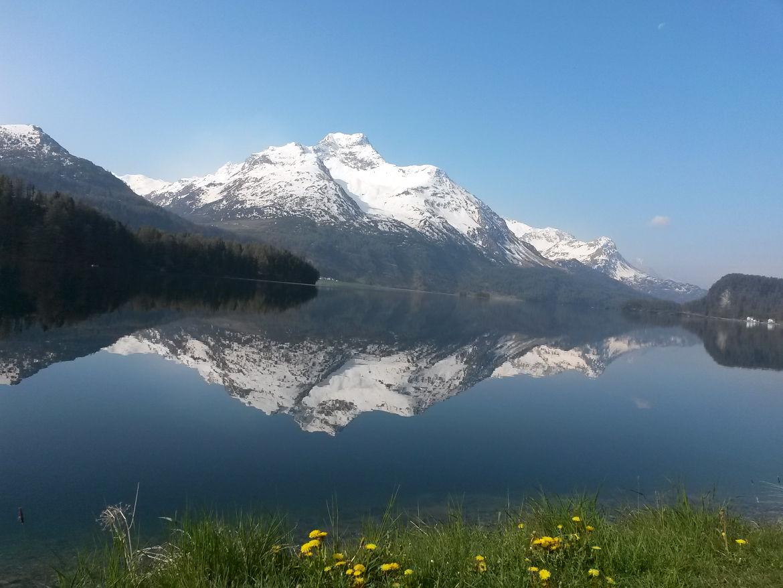 Malojapass Graubünden Schweiz