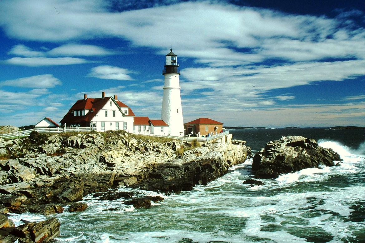 Leuchtturm Portland Headlight USA
