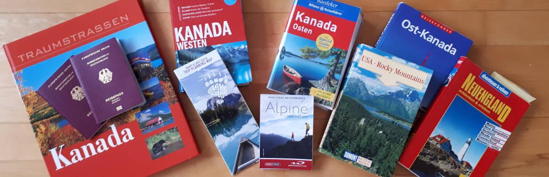 Reiseführer Karten Reisepässe