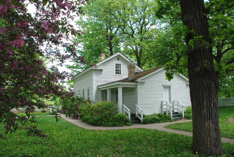 Erstes Haus von Minneapolis von Siedler John H. Stevens
