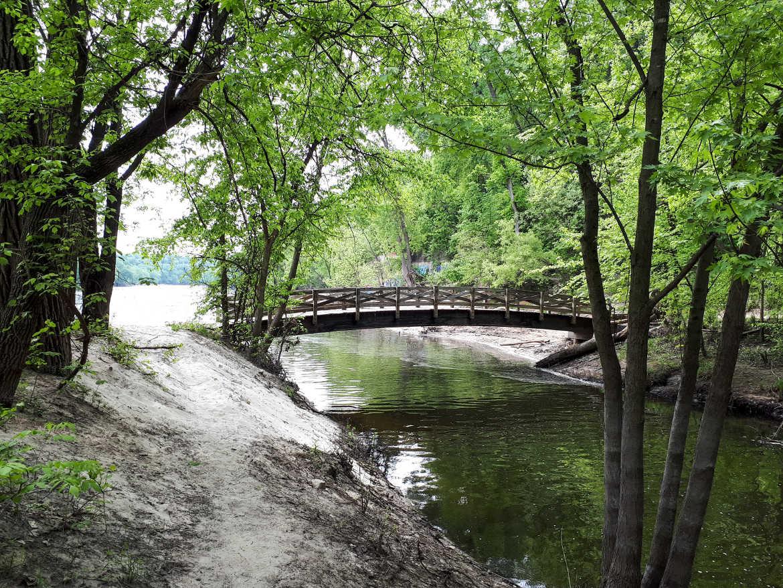 Brücke Minnehaha Creek Mississippi River