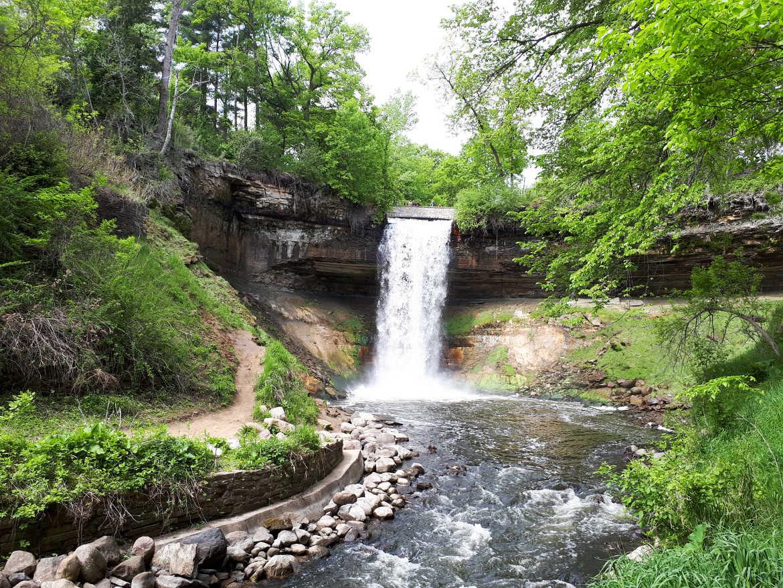 Minneapolis Wasserfälle Minnehaha Falls
