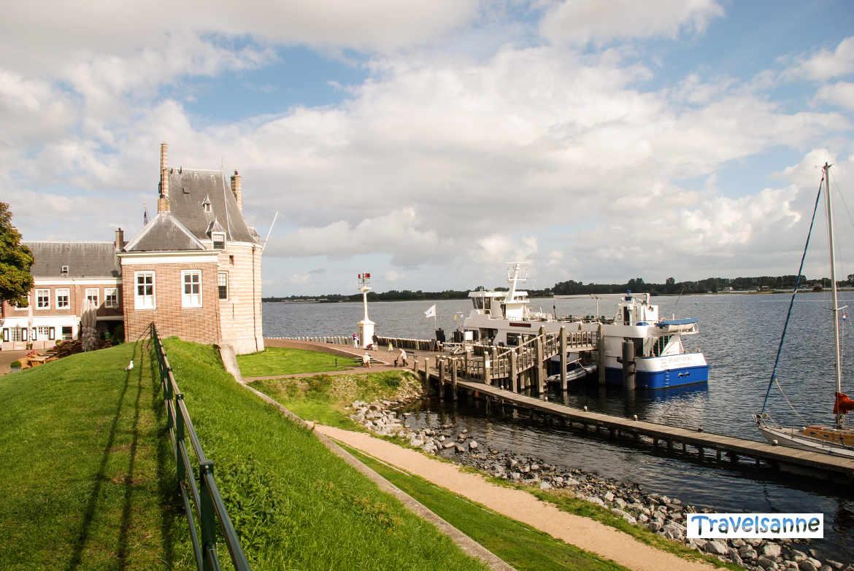 Start in Veere zur kleinen Schiffsrundfahrt über das Veerse Meer, Zeeland