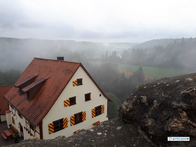 Wanderheim Schwäbischer Albverein Burg Derneck, Hayingen-Münzdorf, Schwäbische Alb