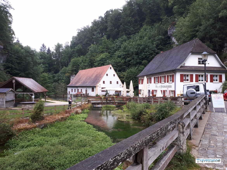 Bio-Gasthof Friedrichshöhle an der Zwiefalter Ach, Hayingen