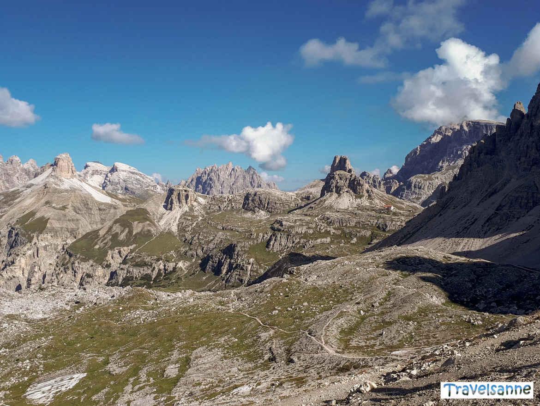 Blick auf die grandiose Bergwelt vom Paternsattel aus