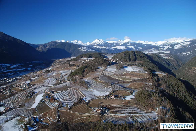 Fahrt in der Luftströmung des Pustertals Richtung Brixen