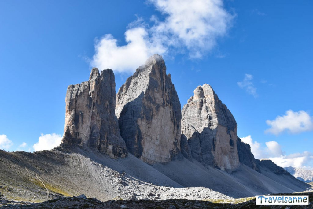 Das Wahrzeichen der Dolomiten: Die Drei Zinnen