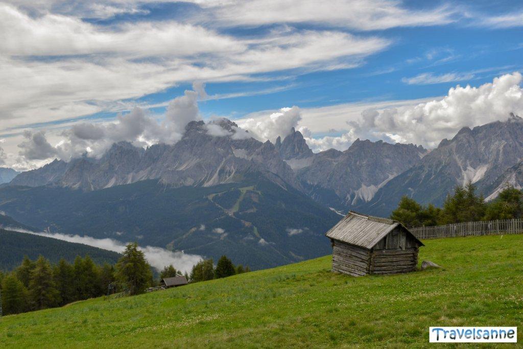 Traumhafter Dolomitenblick von Monte Elmo