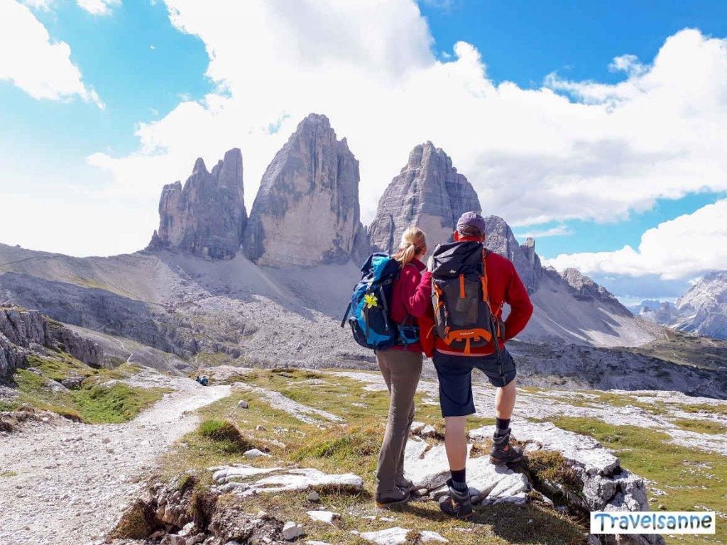 Einer der schönsten Ausblicke Südtirols: die Drei Zinnen