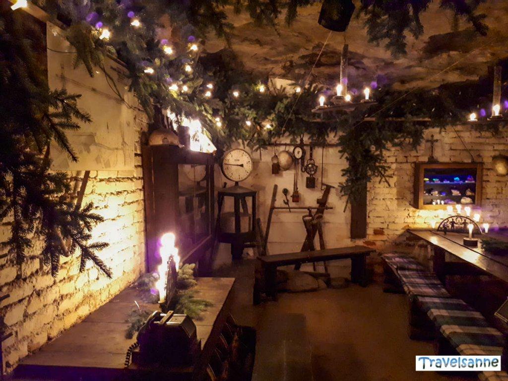 Weihnachtsstimmung unter Tage bei der Mettenschicht
