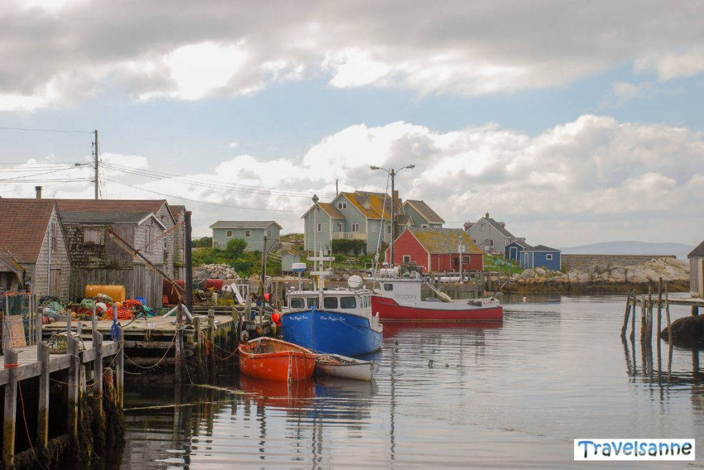 Eines der Highlights von Atlantik Kanada: Das Fischerdorf Peggy's Cove in Nova Scotia