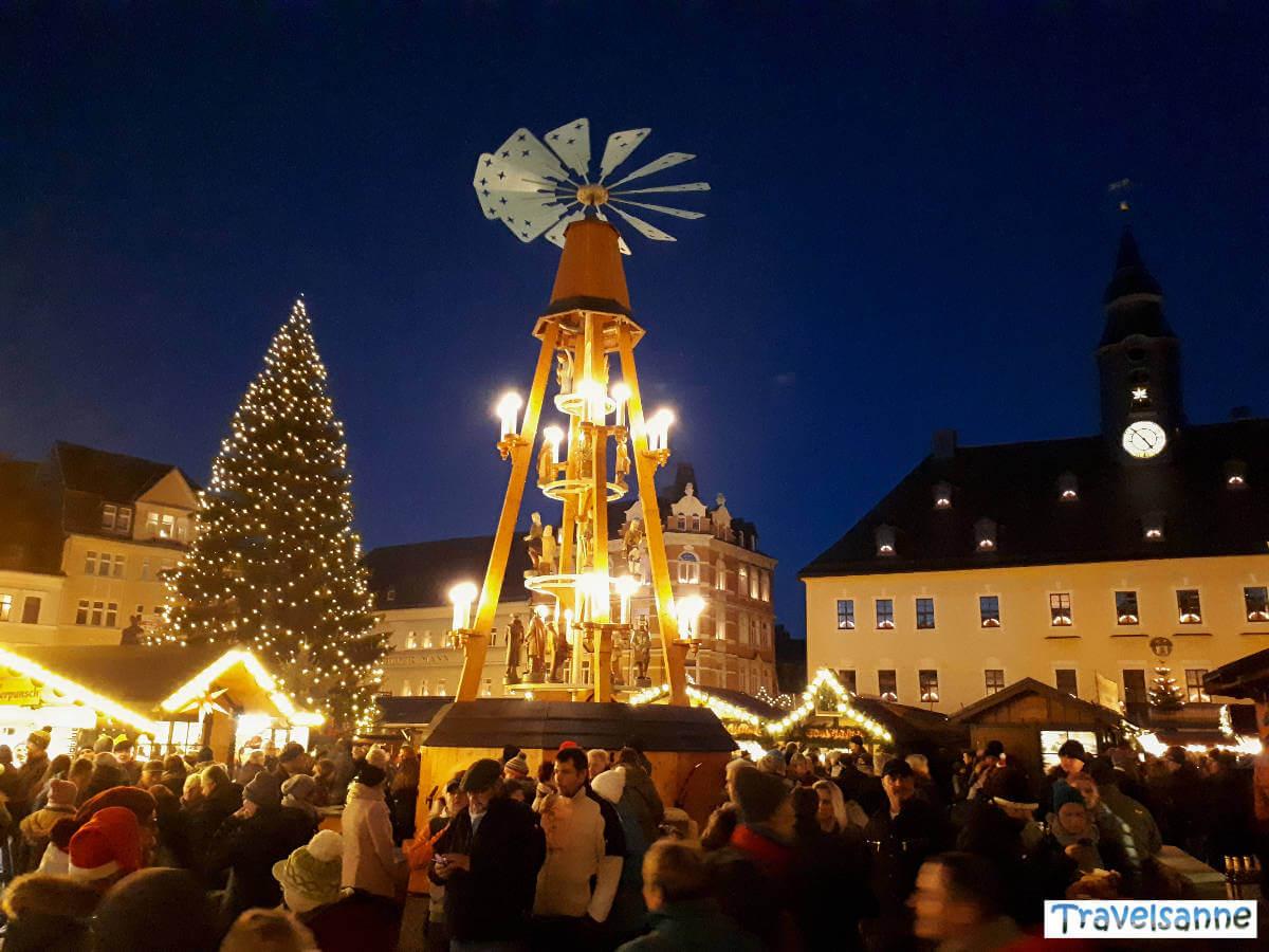 Märchenhafte Stimmung auf dem Annaberger Weihnachtsmarkt