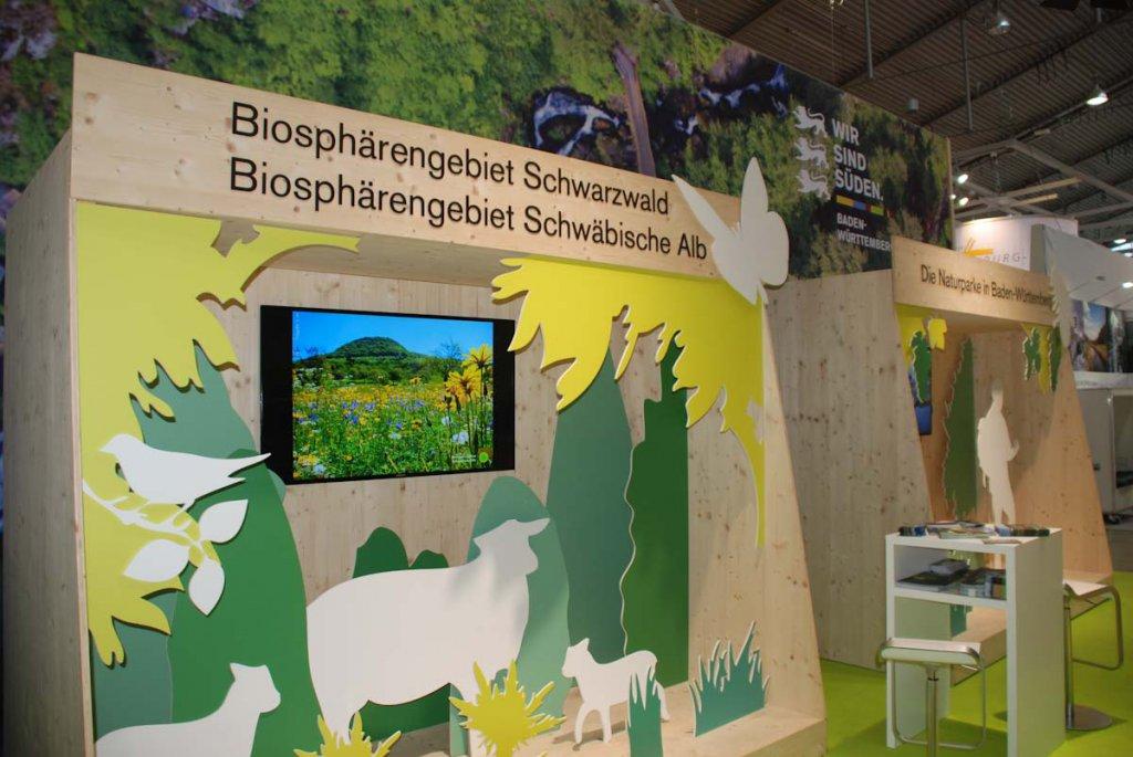 Die Biosphärengebiete Baden-Württemberg präsentieren sich auf der CMT