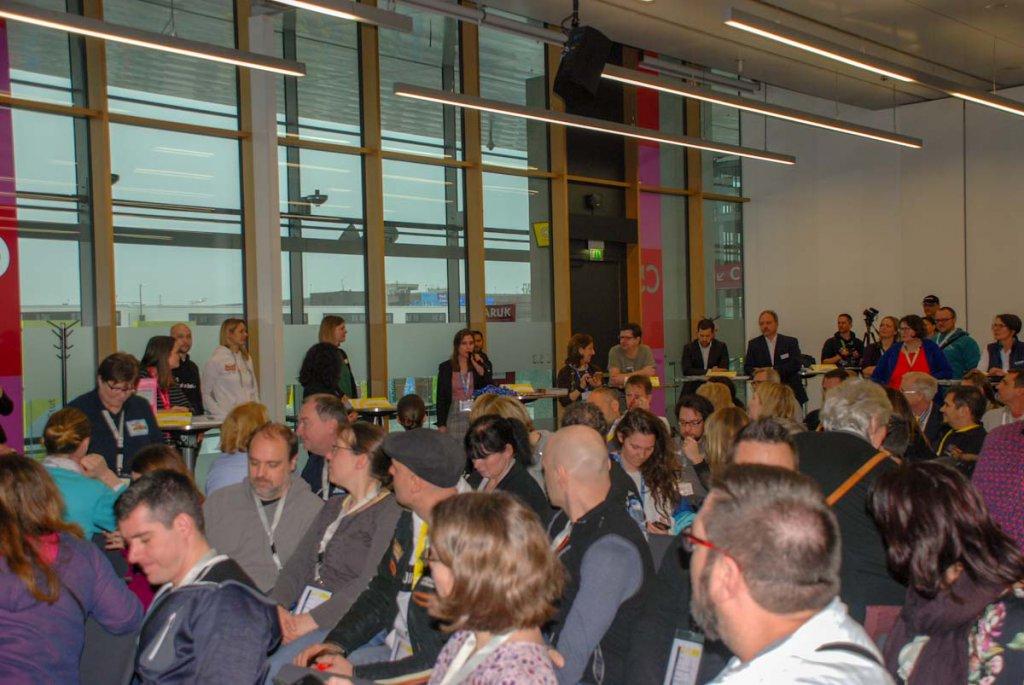 Reger Andrang beim Bloggertreffen auf der CMT 2019