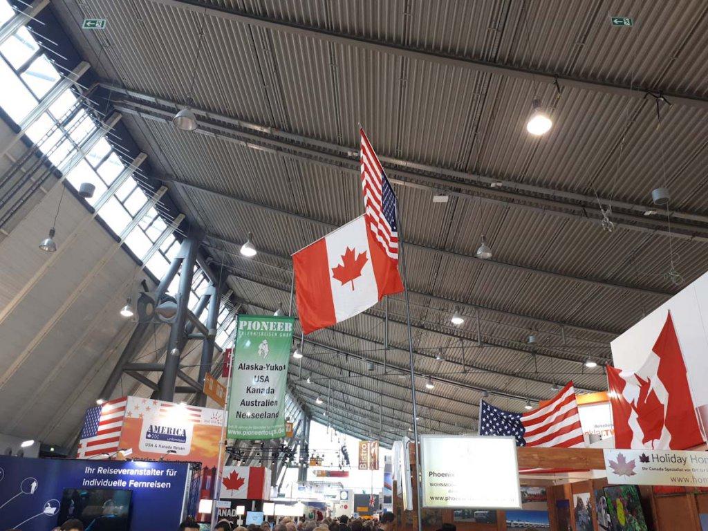 Destination USA und Kanada auf der CMT 2019