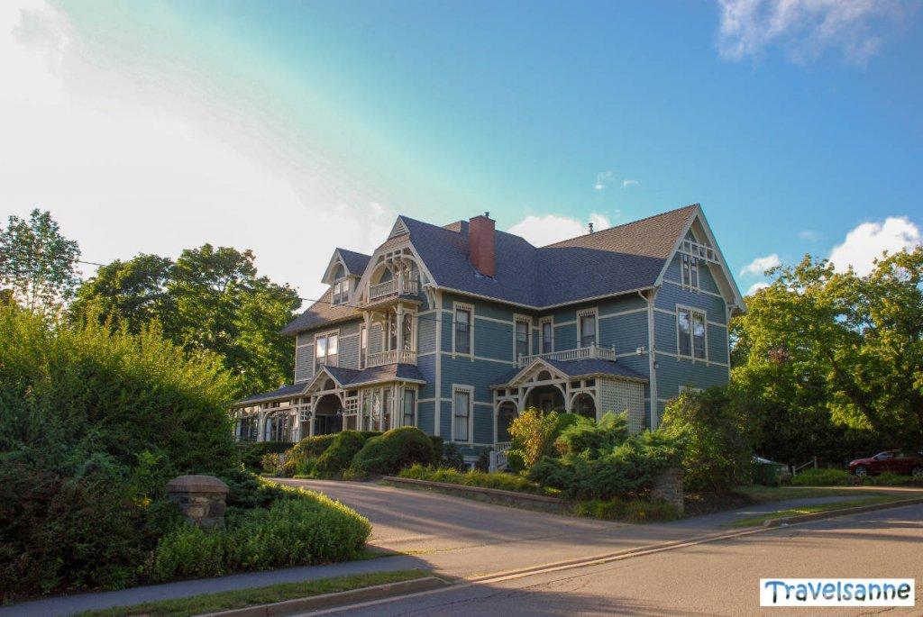 Unser historisches Inn im Universitätsstädtchen Wolfville an der Bay of Fundy
