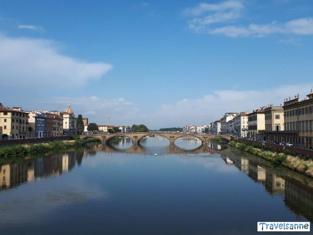 Florenz in der Toskana am frühen Morgen