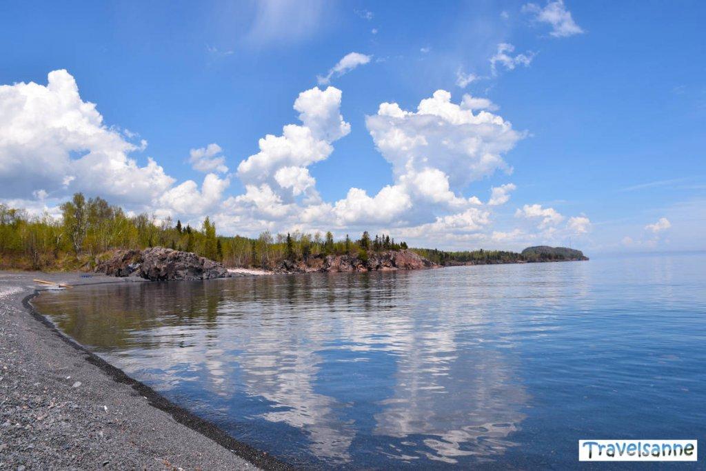 Wolkenspiel über dem Oberen See - Lake Superior - in Minnesota