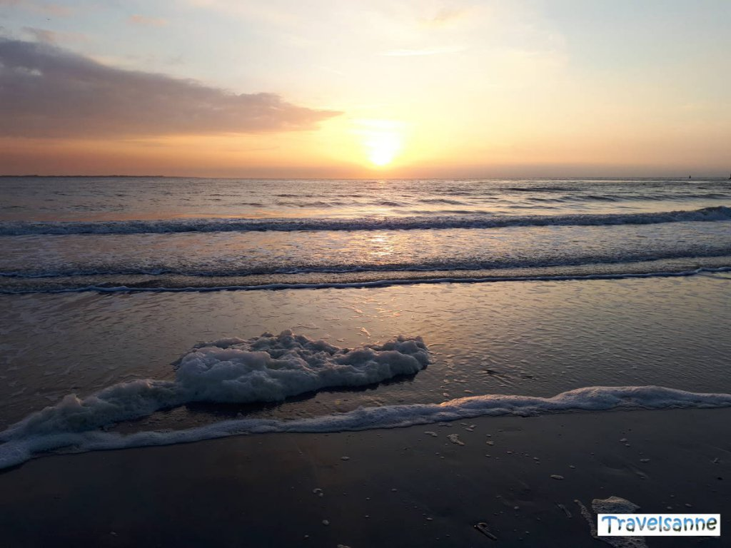 Ein echtes Highlight: Die Sonnenuntergänge auf Norderney