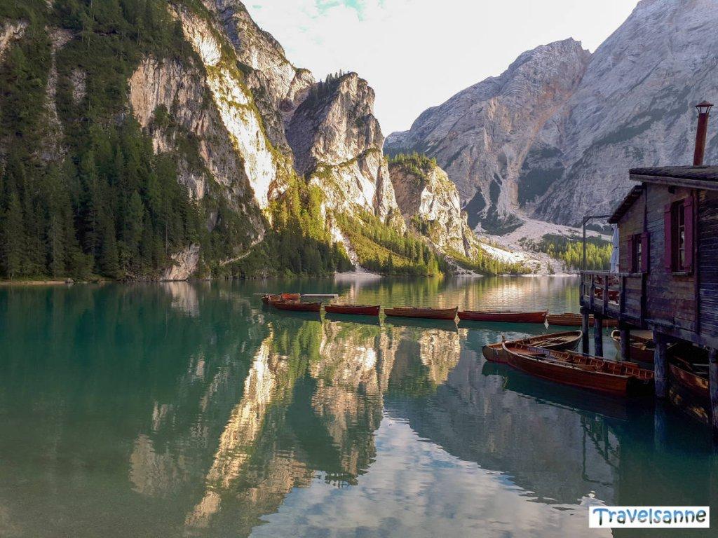 Travelsanne Reisehighlights 2018 - Der Pragser Wildsee