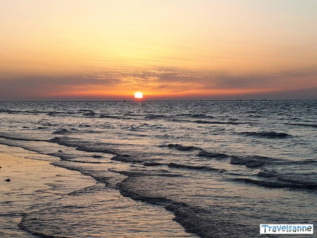 Reisehighlights 2018 Sonnenuntergänge in Zeeland an der Nordseeküste