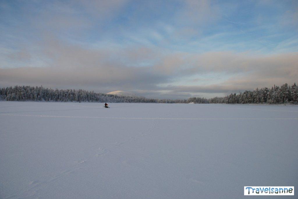 Diese unglaubliche Weite Schwedisch Lapplands - ein Paradies für Wintersportler