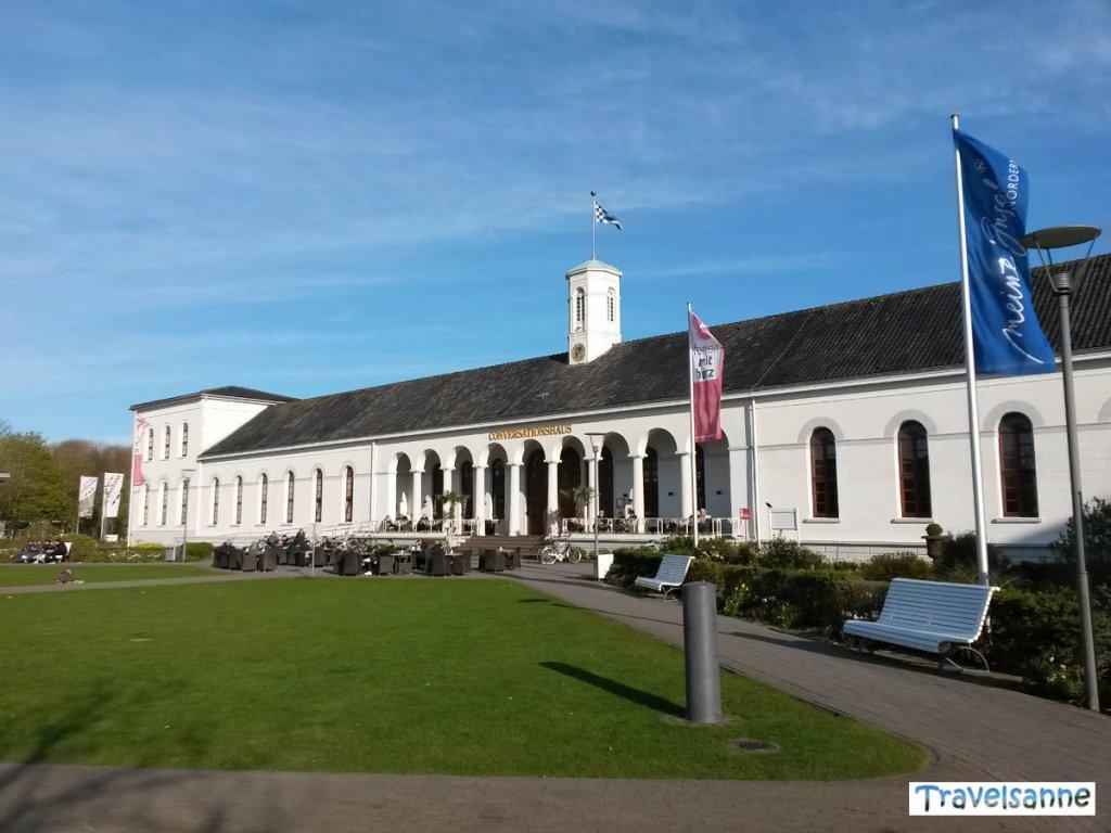 Das Conversationshaus am Kurplatz auf Norderney