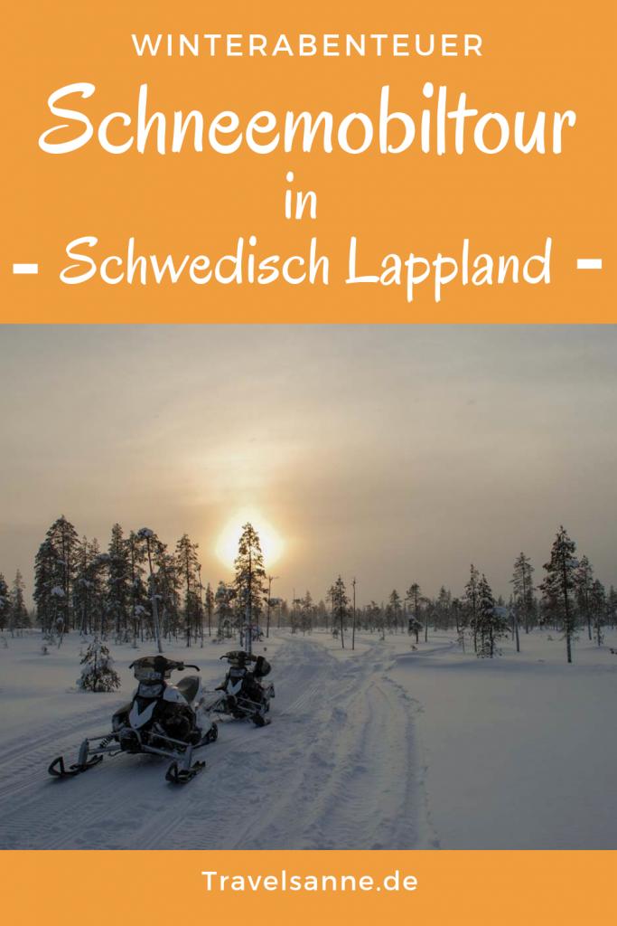 PIN Schneemobiltour Schwedisch Lappland