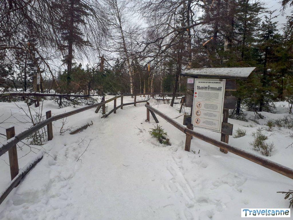 Winterzauber im Naturschutzgebiet Hohlohsee am Kaltenbronn