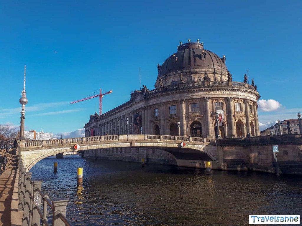Das Bode-Museum auf der Museumsinsel in Berlin