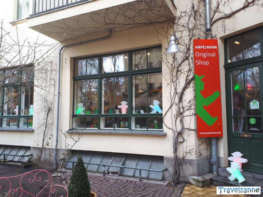 Der Berliner Ampelmann-Shop in den Hackeschen Höfen