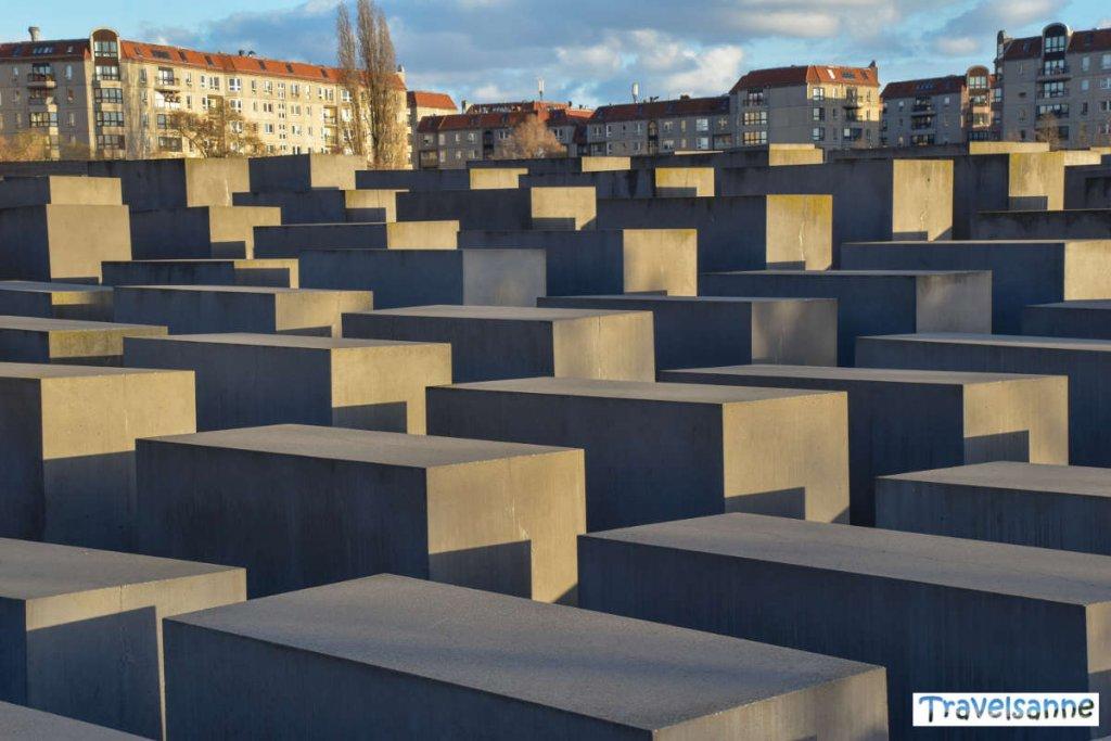 Das beeindruckende Holocaust Mahnmal