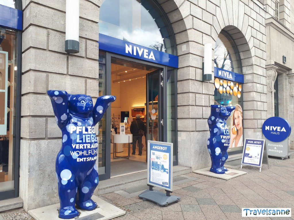 Shopping-Highlight mit Teenager: das Nivea-Haus Unter den Linden