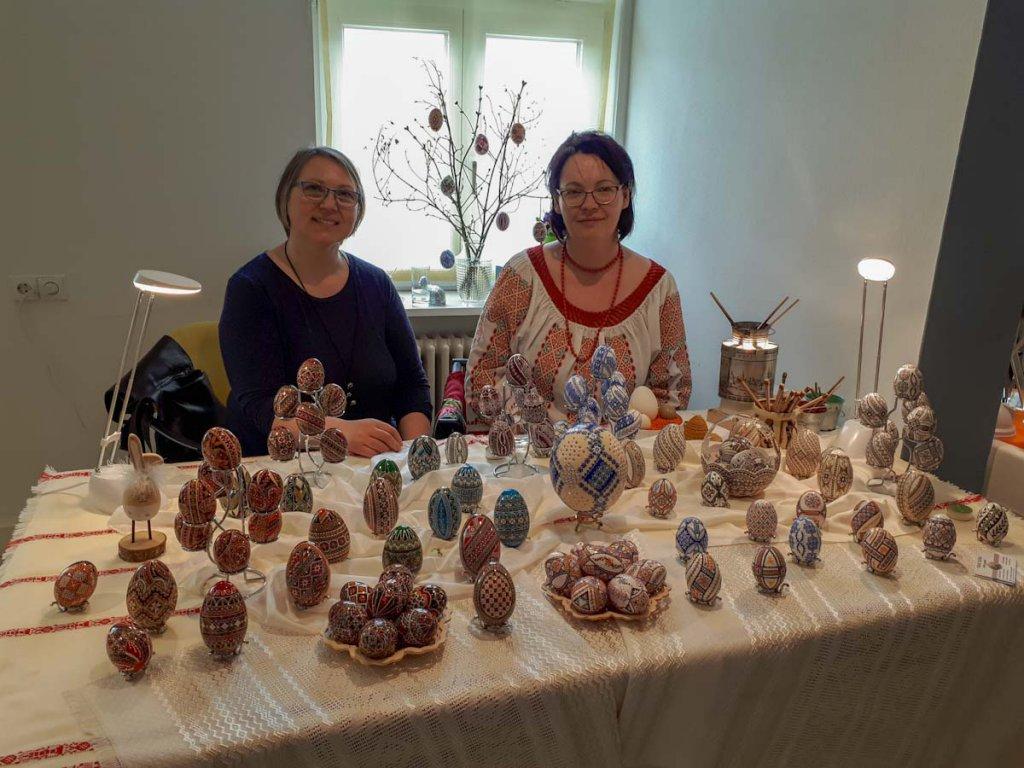 Internationaler Künstlermarkt im Osterei-Museum Sonnenbühl