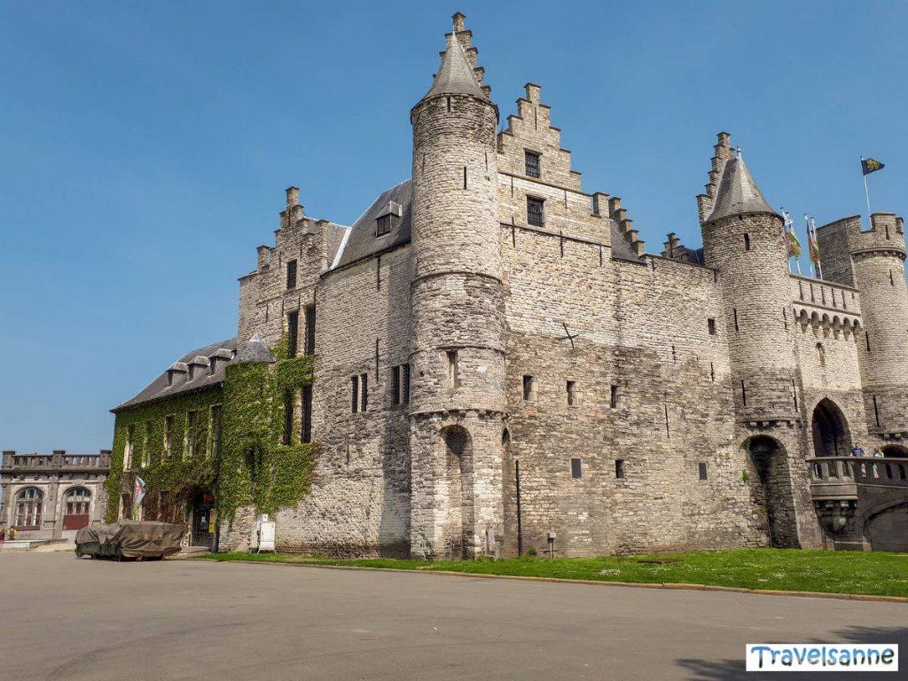 Antwerpens ältestes Gemäuer: Burg Het Steen