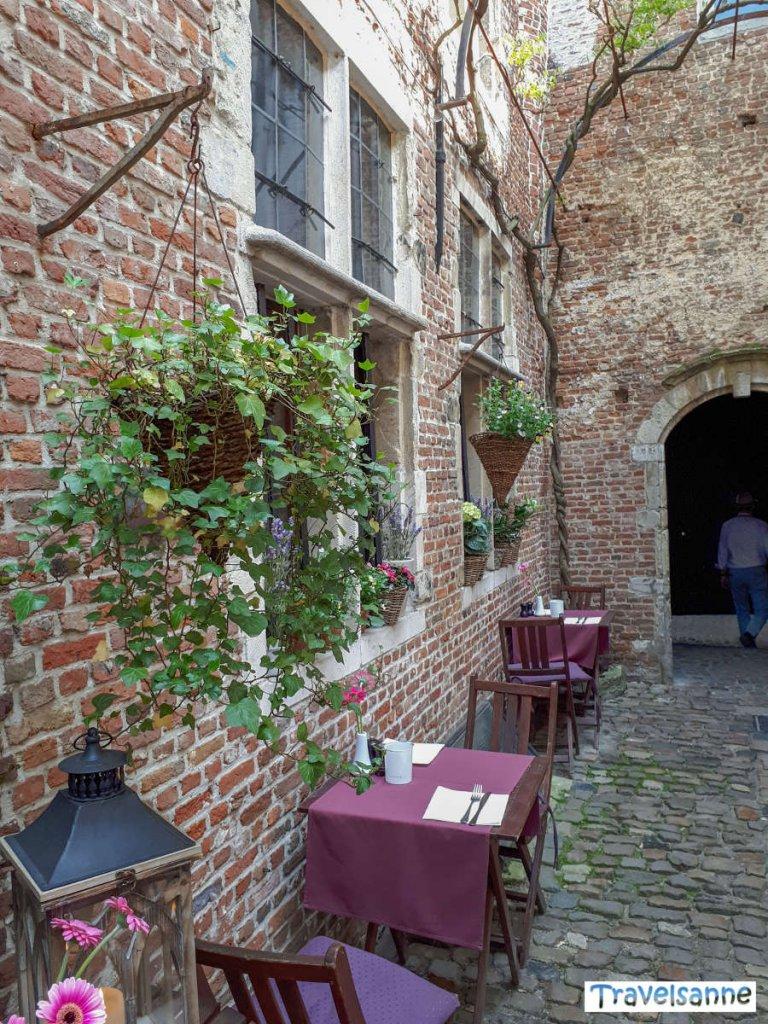 Antwerpen Restaurants: das romantische t'Hofke