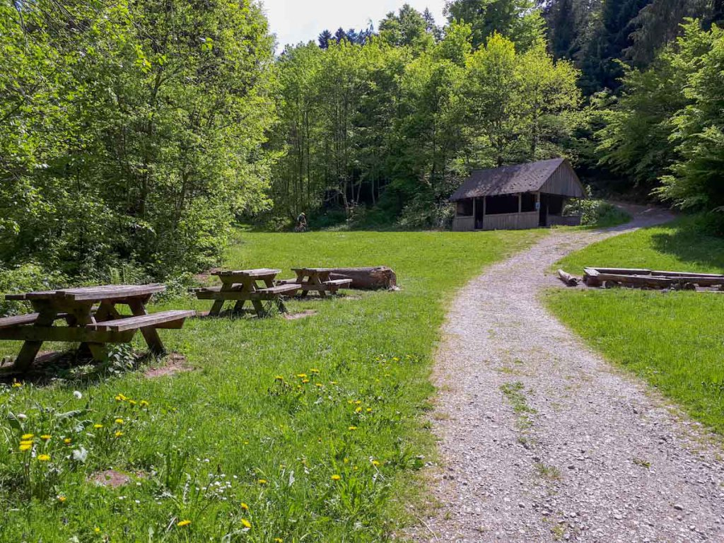 Der idyllisch gelegene Jugendzeltlagerplatz Monbachtal