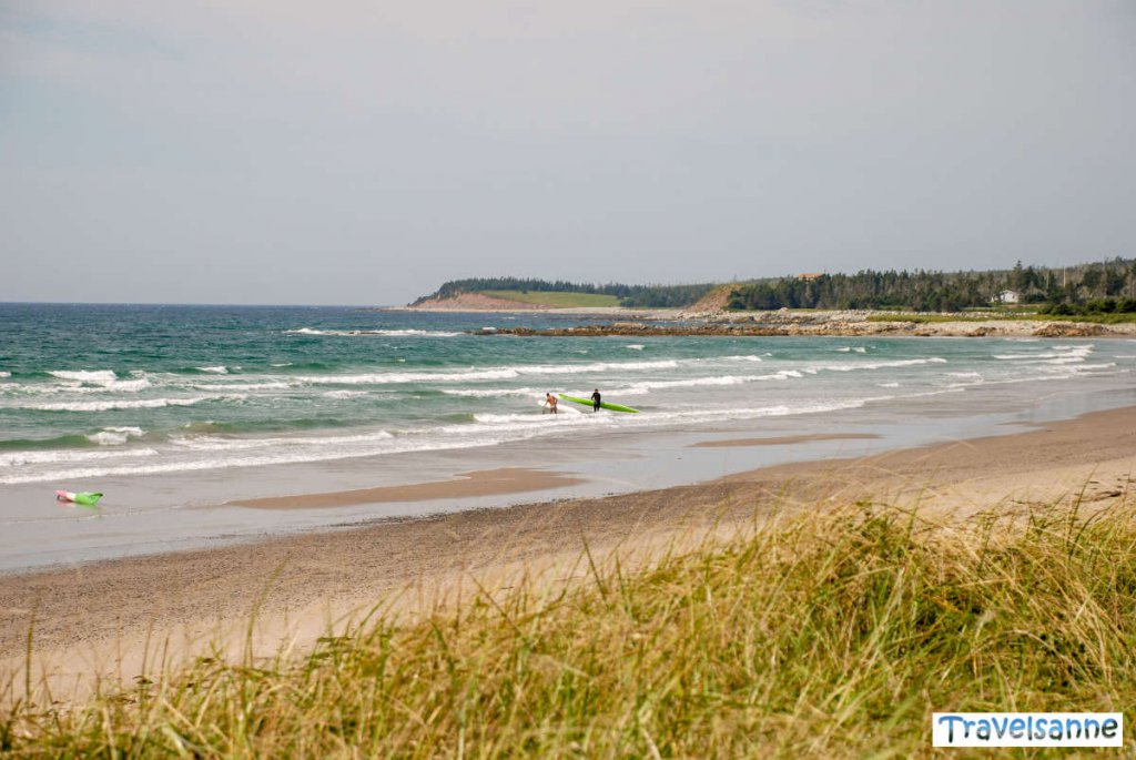 Der Surfspot in Nova Scotia: Lawrencetown Beach
