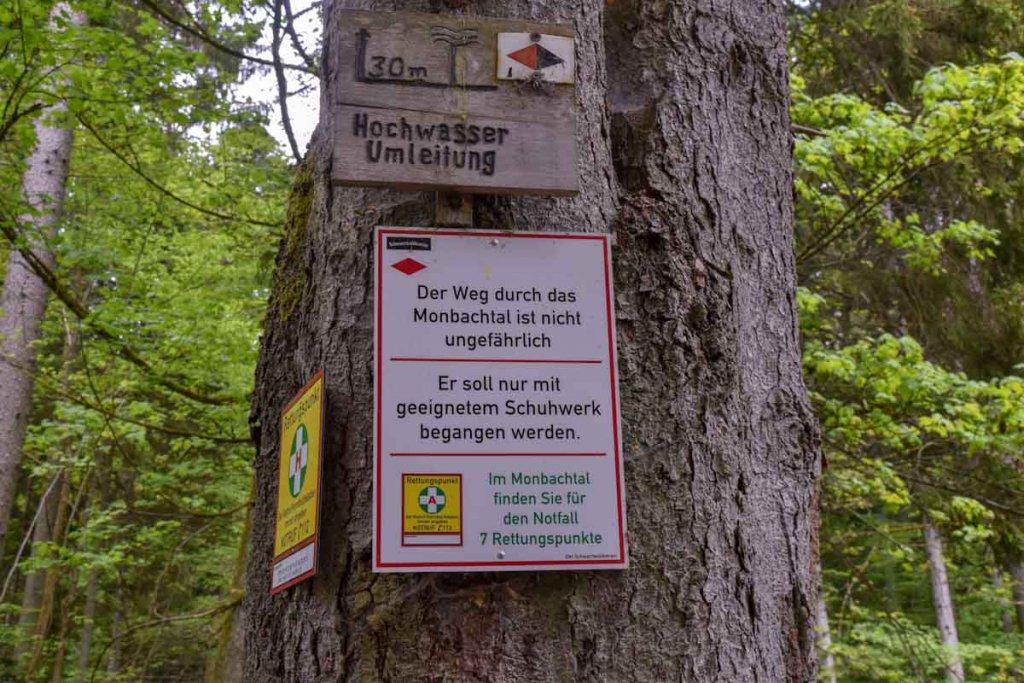 Wanderung durchs Monbachtal im Nordschwarzwald