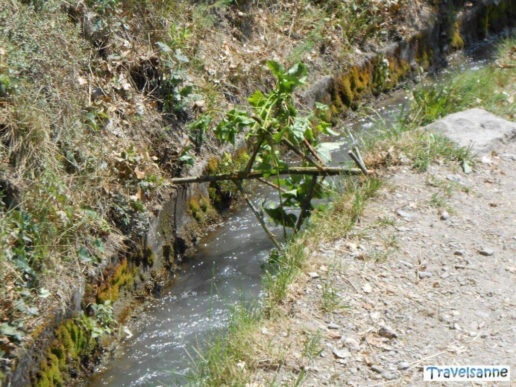 Wasserrads im Waal im Meraner Land