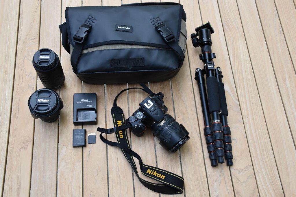Unser Fotoequipment für den Urlaub
