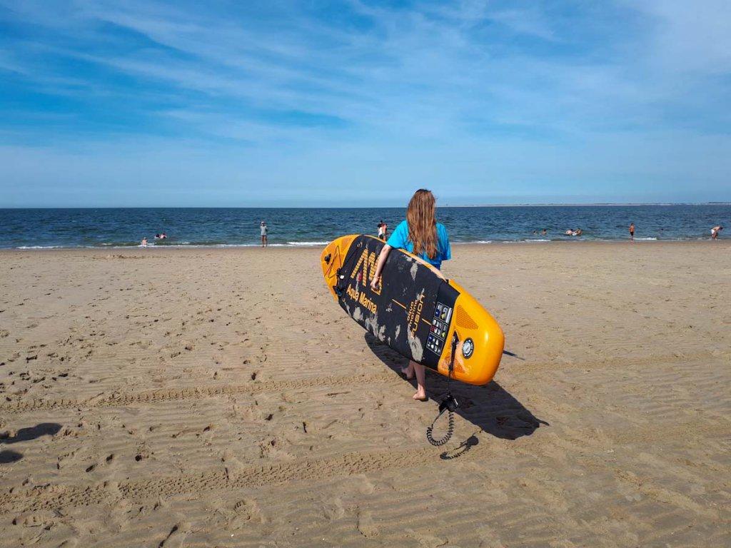 Packliste Urlaub am Strand: Sportequipment