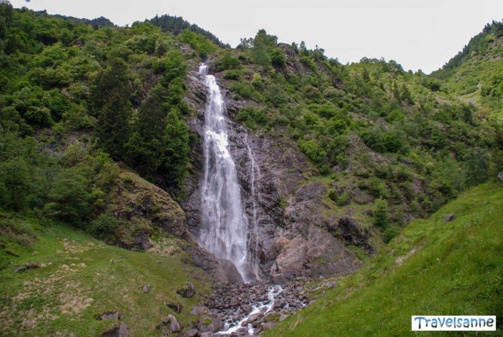 Der beeindruckende Partschinser Wasserfall