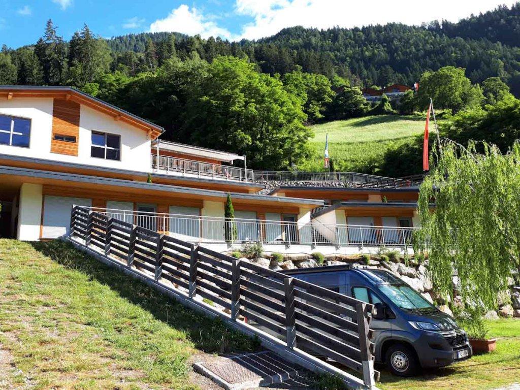 Übernachtungstipp unseres Südtirol Kurzurlaubs: Der Camping in St. Leonhard
