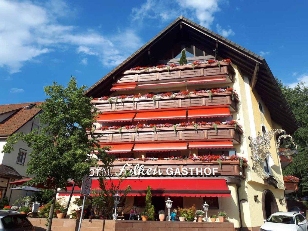 Unser Zuhause für eine Nacht: Das Hotel in Falken in Baiersbronn