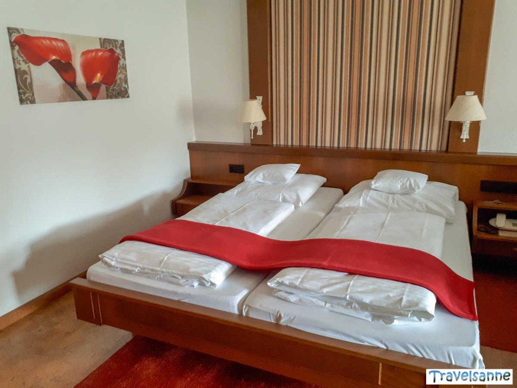 Unser gemütliches Zimmer im Hotel Falken in Baiersbronn