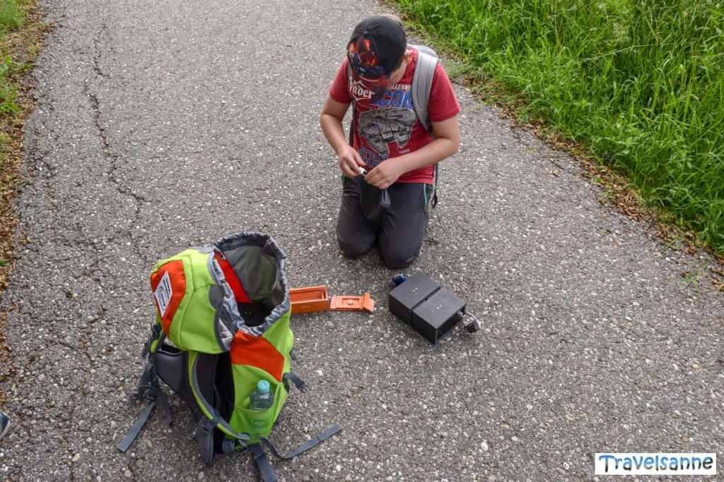 Start zu unserer besonderen Schnitzeljagd in Baiersbronn
