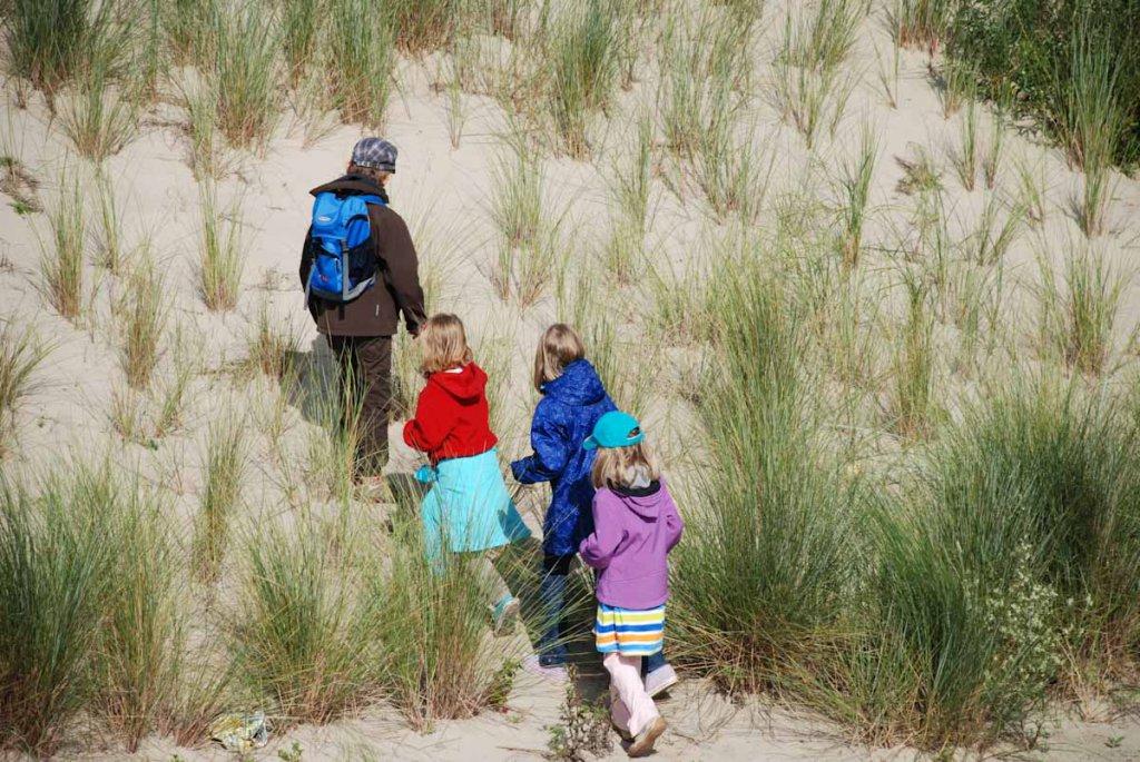 Reise in die Vergangenheit: Unsere Kinder vor vielen Jahren im Zeeland Urlaub